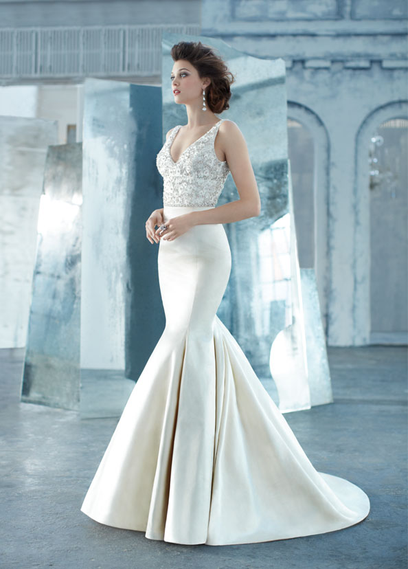 Lazaro Bridal Gowns, Wedding Dresses Style LZ3314 by JLM Couture, Inc.