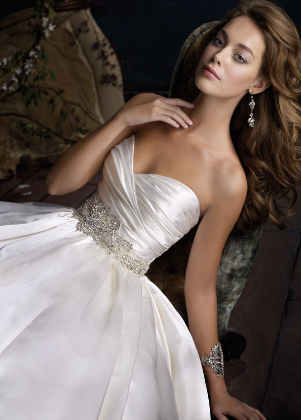 Lazaro Bridal Gowns, Wedding Dresses Style LZ3