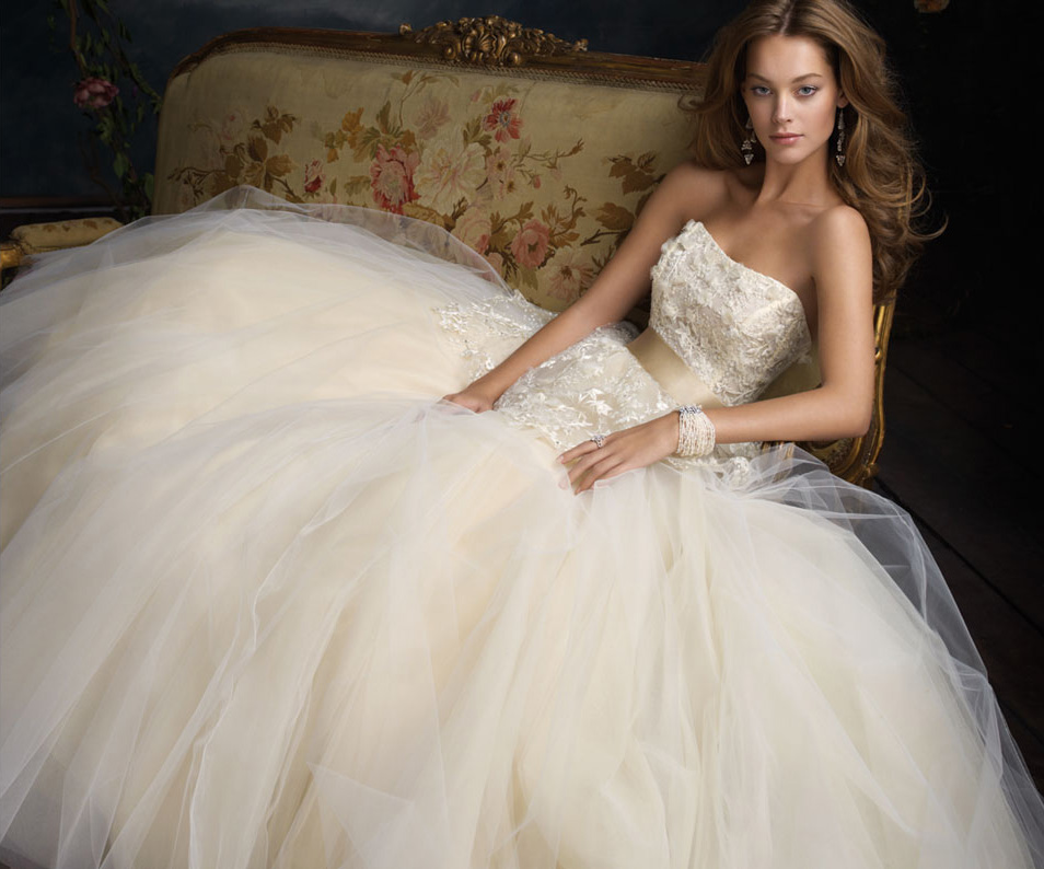 Lazaro Bridal Gowns, Wedding Dresses Style LZ3114 by JLM Couture, Inc.