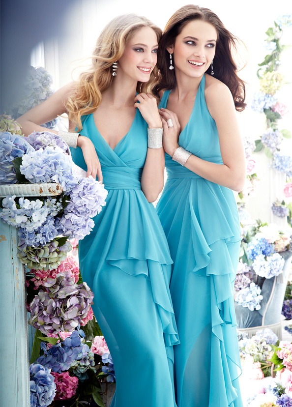Jim Hjelm Occasions Bridesmaids and Special Occasion Dresses Style jh5274 by JLM Couture, Inc.