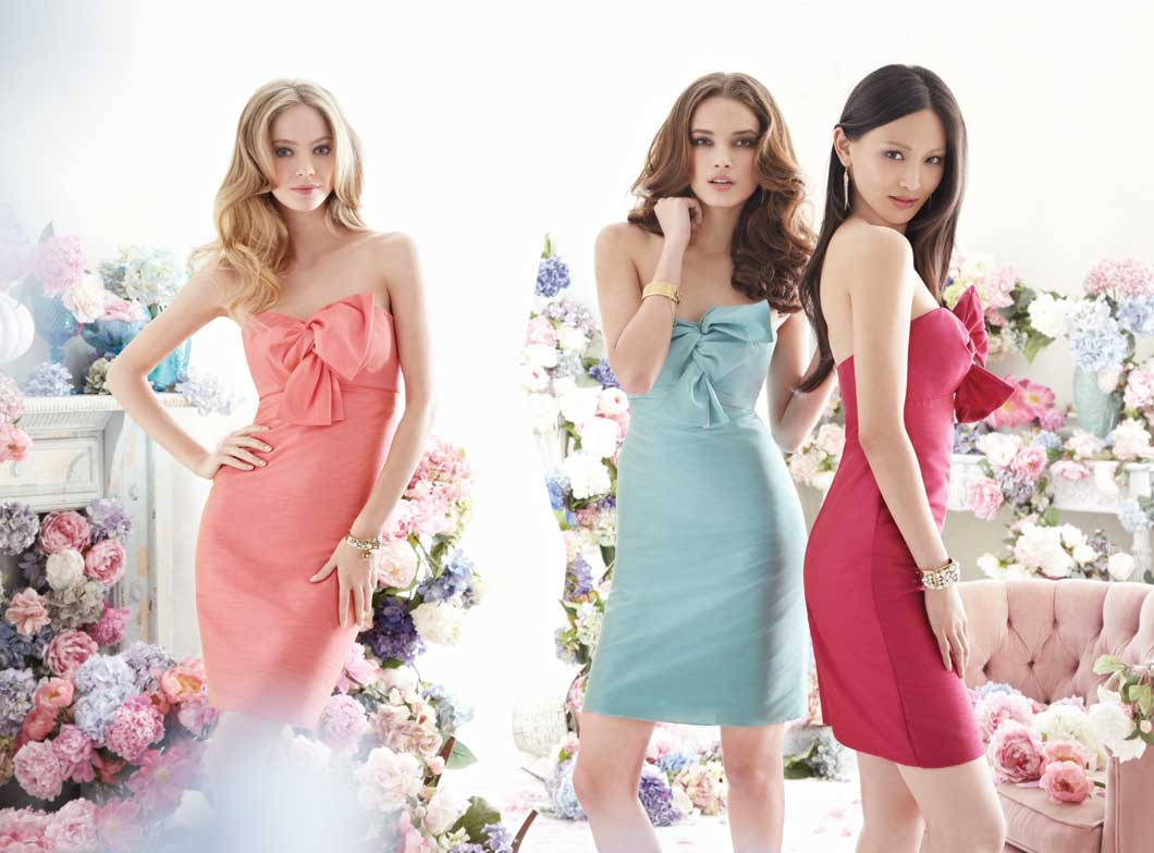 Designing flattering bridesmaid dresses is just one way in which the company succeeded.
