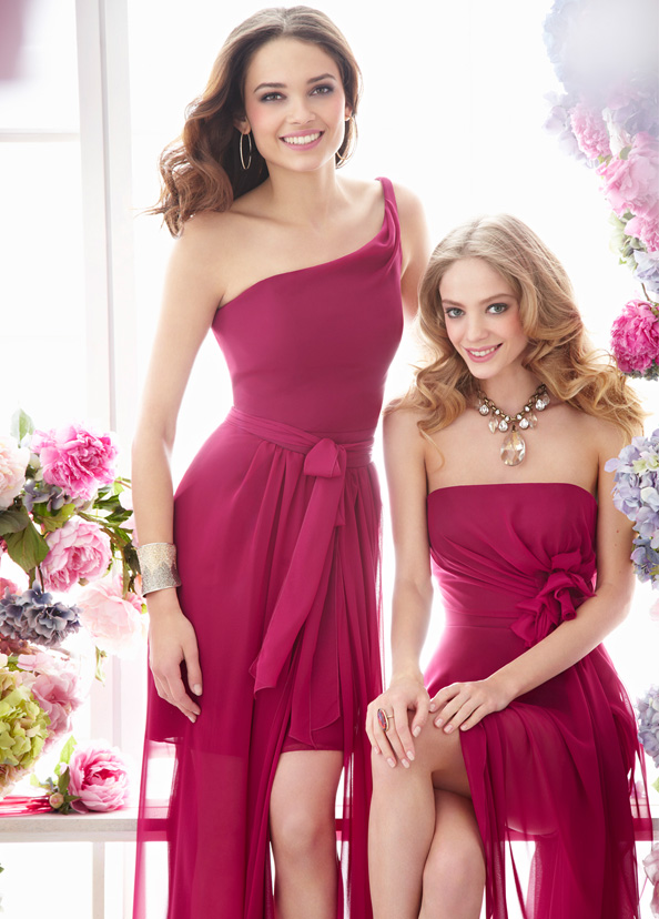 Opinion on color of bridesmaid dresses