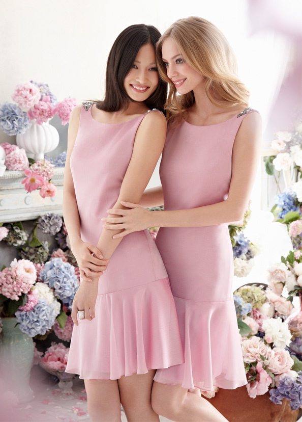 Jim Hjelm Occasions Bridesmaids and Special Occasion Dresses Style jh5265 by JLM Couture, Inc.