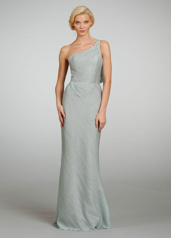 Jim Hjelm Bridesmaid Dresses One Shoulder