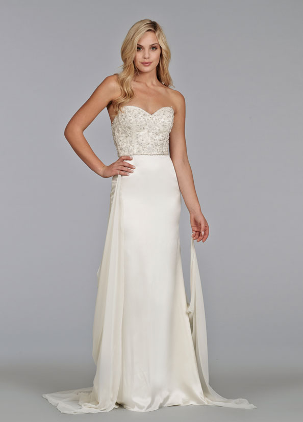 Tara Keely Bridal Gowns, Wedding Dresses Style tk2402 by JLM Couture, Inc.